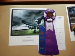 "My photograph, ""Old Warbird"" won Best in Division"