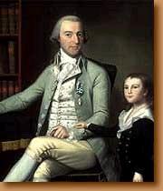 Major Benjamin Tallmadge and his son, William